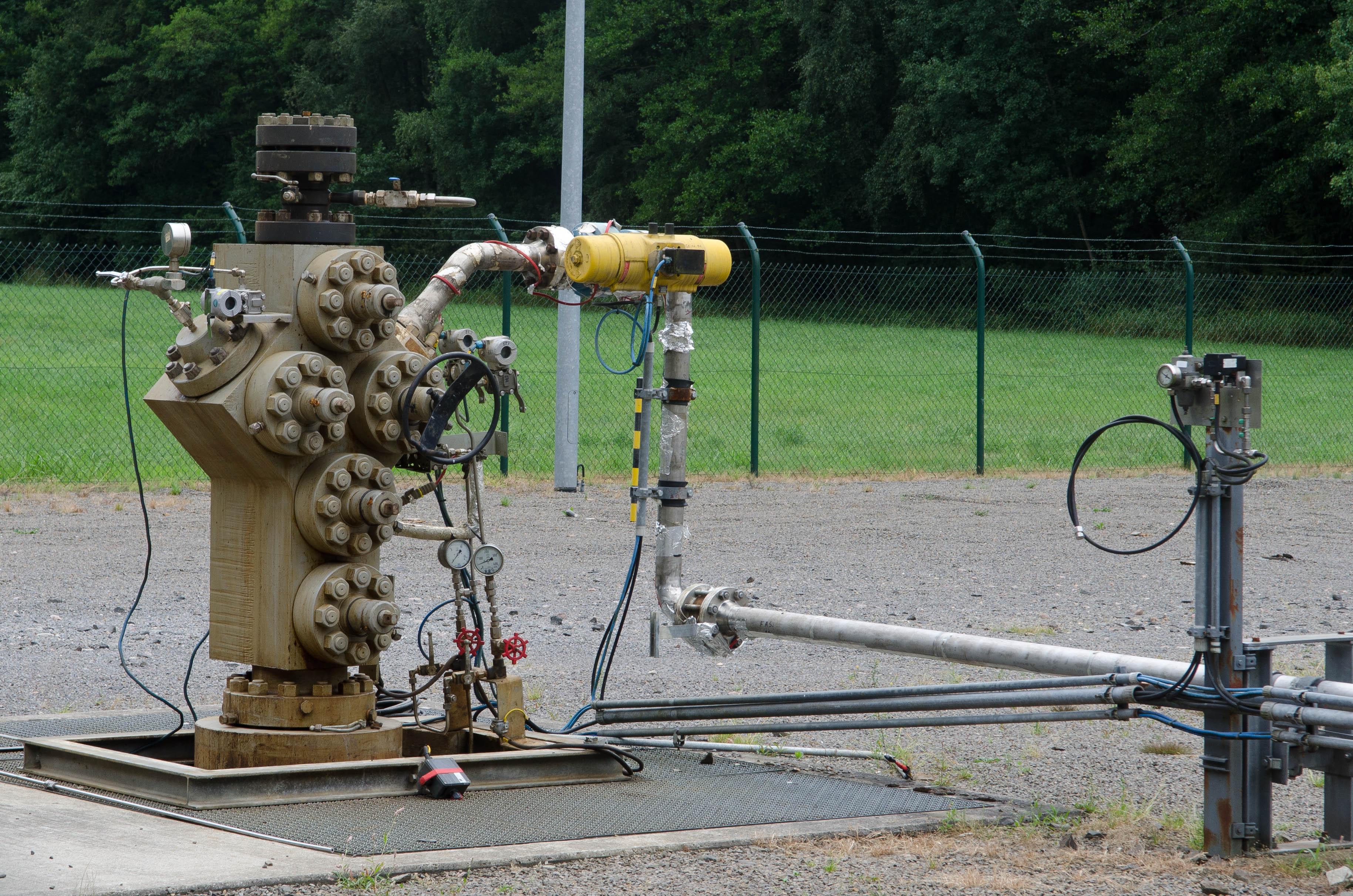 Verpressstelle für Lagerstättenwasser in Wittorf-Grapenmühlen
