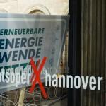 Hannover: Demo für die Energiewende